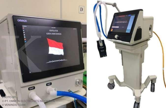 Tim Venindo dan Omron kolaborasi kembangkan ventilator untuk pasien Covid-19