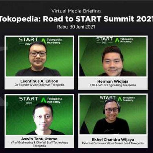 Majukan Ekosistem Teknologi dan Talenta Digital Tanah Air, Tokopedia Kembali Gelar Start Summit 2021