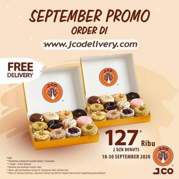 Promo J.CO periode 18-30 September 2020