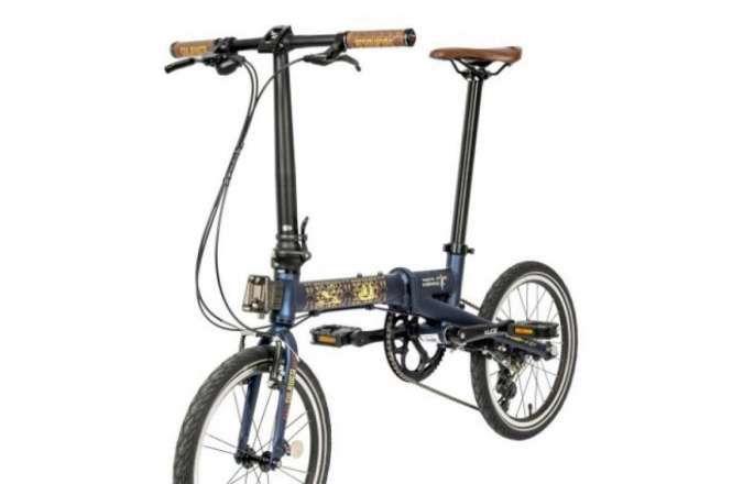 Kabar baik! Harga sepeda lipat Camp Hazy edisi Sulawesi sedang didiskon lo