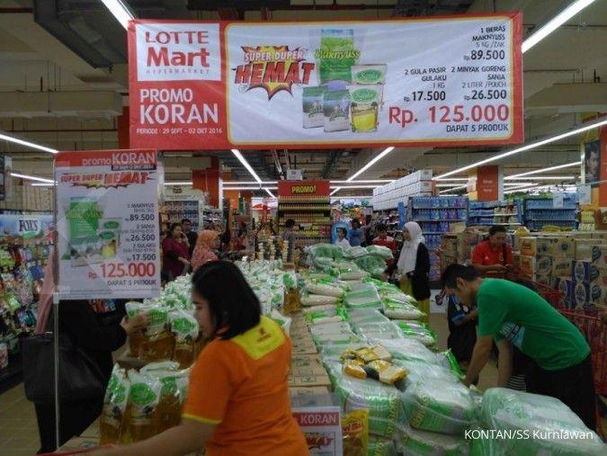 Lotte Mart bakal bangun sembilan gerai baru