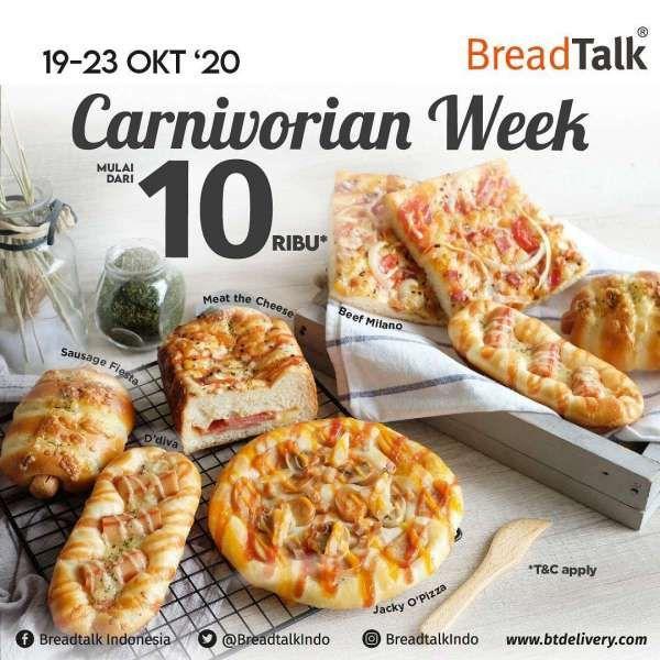 Promo BreadTalk periode 19-23 Oktober 2020