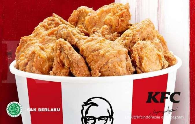Promo KFC bulan Agustus 2021, tunjukkan sertifikat vaksin Covid-19 untuk diskon 30%
