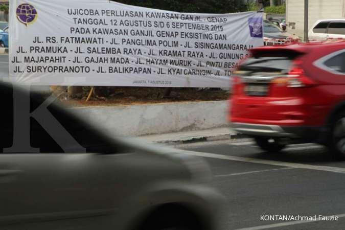 Bagi mobil dan motor, mungkin ini jalan yang bakal terkena ganjil genap Jakarta