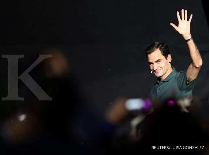 Roger Federer jadi atlet dengan pendapatan terbesar tahun 2020 versi Forbes