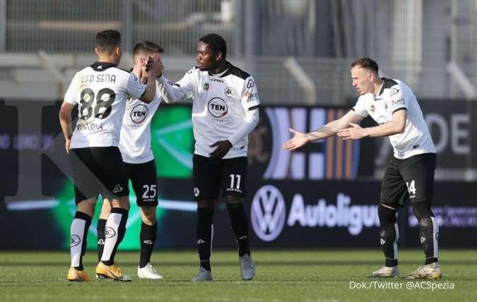Jelang laga Juventus vs Spezia di Liga Italia Serie A