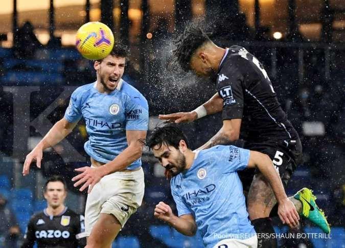 Aston Villa vs Man City di Liga Inggris: Kontra Villa, The Citizens coba obati luka