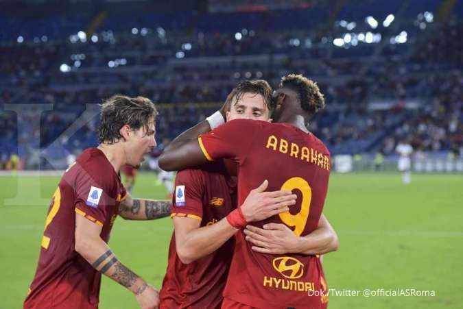 Hasil AS Roma vs Udinese di Liga Italia Serie A: Giallorossi tekuk Zebrette 1-0