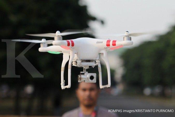 Ada pelantikan presiden, TNI AU aktifkan drone pengacak sinyal di ruang udara Jakarta