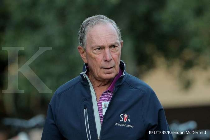 Polling Reuters: Pencalonan Michael Bloomberg gerus 3% suara Joe Biden
