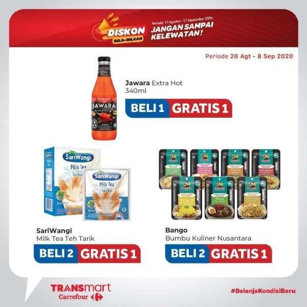 Katalog Promo Transmart Carrefour Hari Ini 3 September 2020 Banjir Diskon