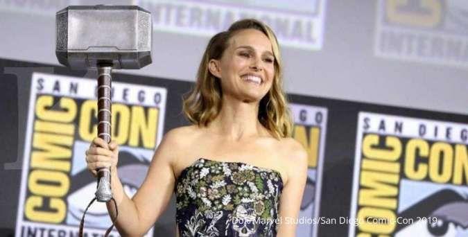 Natalie Portman mulai olahraga, siap jadi superhero baru di Thor: Love and Thunder