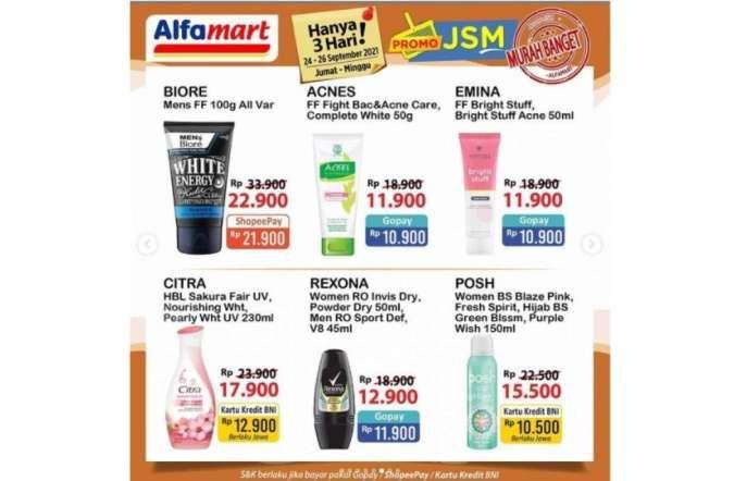 Promo JSM Alfamart 24-26 September 2021