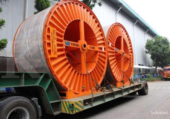 Perdana, Voksel Electric (VOKS) kirim produk kabel tegangan tinggi untuk proyek PLN