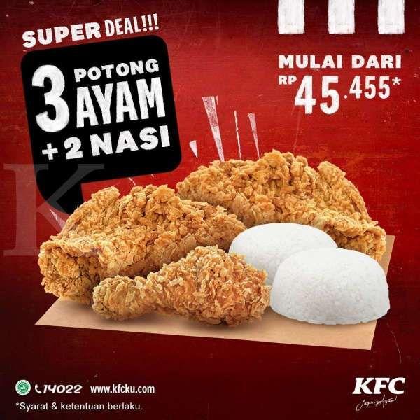 Promo KFC 12-25 Oktober 2020