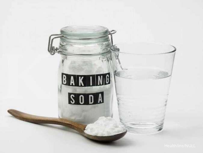 Salah satu manfaat baking soda adalah digunakan sebagai obat sariawan.
