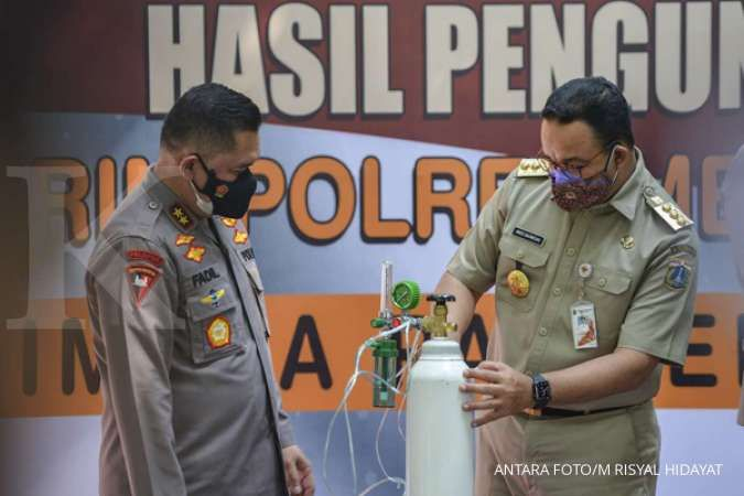 Anies minta Kapolda Metro Jaya pajang foto pelaku kejahatan kemanusiaan