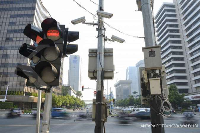 Tilang elektronik pengendara motor berlaku mulai Februari, denda minimal Rp 150.000