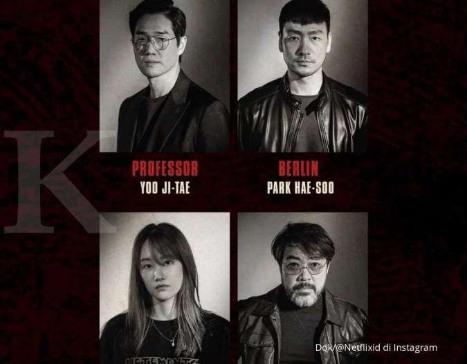 Drama Korea terbaru adaptasi Money Heist akhirnya rilis deretan pemeran, siapa saja?