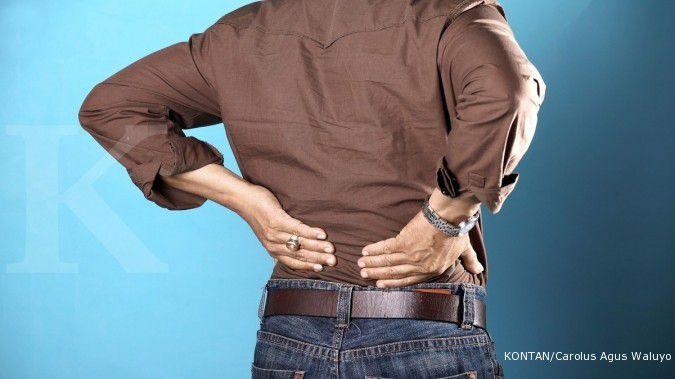 Penyebab osteoporosis meningkat karena beberapa faktor./Pho KONTAN/Carolus Agus Waluyo/15/08/2011.