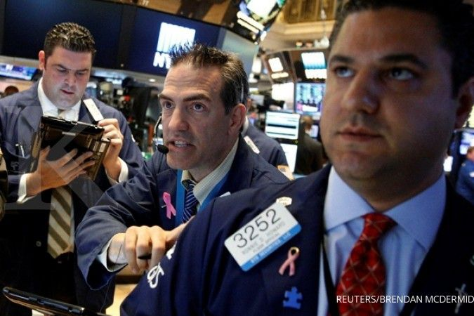 Wall Street kembali ditutup di level rekor!