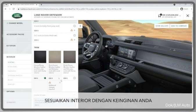 Pembeli Jaguar Land Rover kian mudah wujudkan mobil impiannya sesuai preferensinya