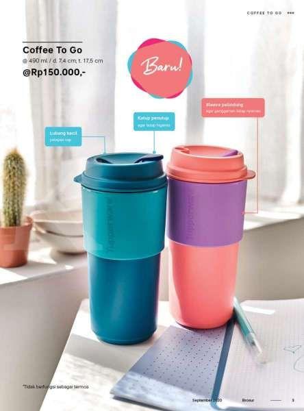 Katalog promo Tupperware September 2020, edisi perabotan minuman