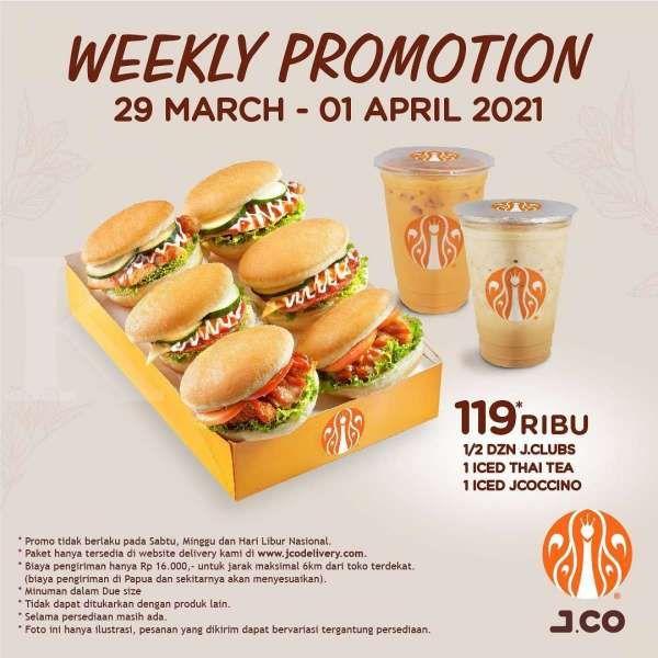 Promo J.CO 29 Maret-1 April 2021
