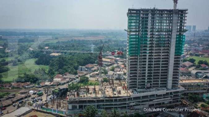 Adhi Commuter Properti gelar topping off tower Sapphire Cisauk Point