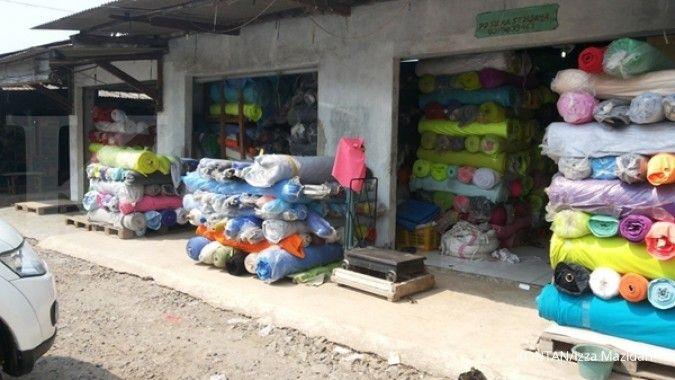 Beli pasokan bahan dari pabrik tekstil (2)