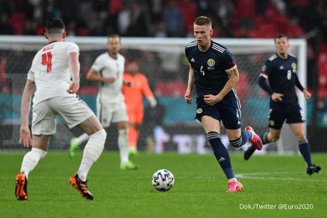 Hasil Euro 2020 antara Inggris vs Skotlandia di Grup D
