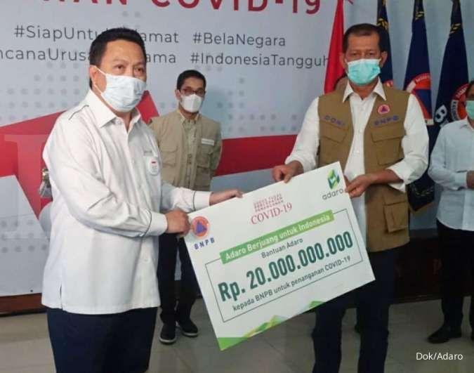Kakak Erick Thohir sumbang Rp 20 miliar untuk penanggulangan corona ke BNPB