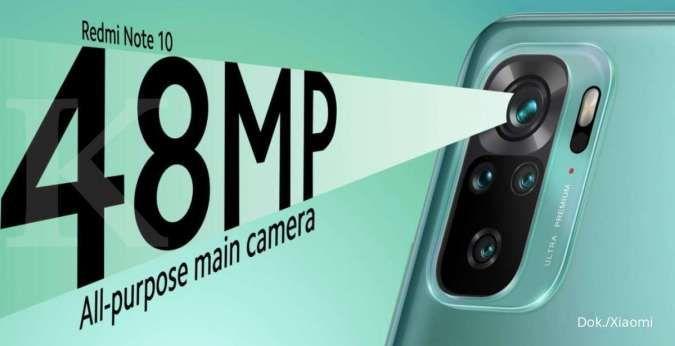 Resmi diluncurkan, harga HP Redmi Note 10 dibanderol mulai dari Rp 2,8 jutaan