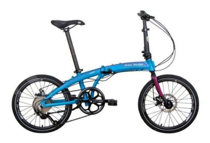 Baru! Harga sepeda lipat Dahon Ion Eugene blue tak terlalu mahal