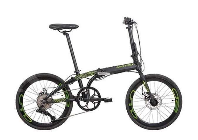 Asik, turun harga! Ini harga sepeda lipat United Nigma 10S terkini