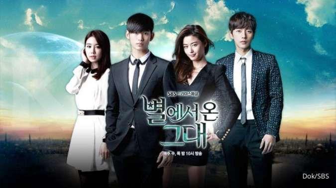 My Love From The Star, salah satu drakor (drama Korea) terbaik sepanjang masa