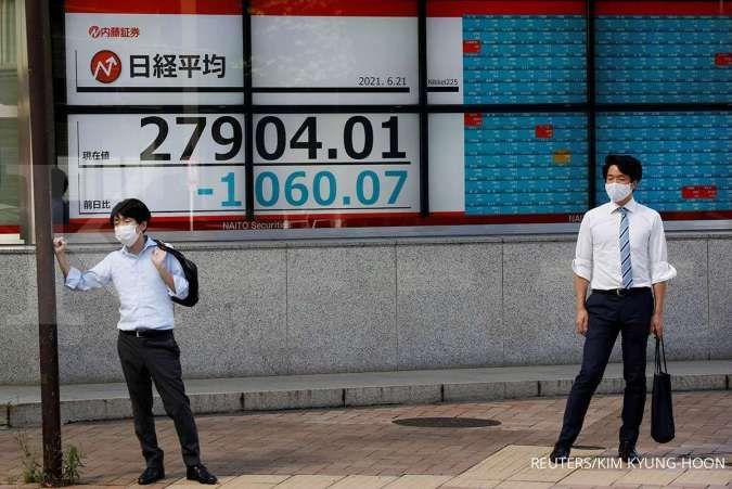 Bursa Asia kompak menguat pada Rabu (23/6) pagi