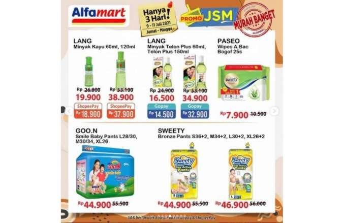 Promo JSM Alfamart 9-11 Juli 2021