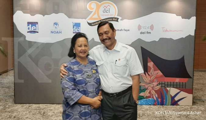 Wasiat Luhut Binsar Pandjaitan ke putra-putrinya untuk kegiatan pendidikan dan sosial