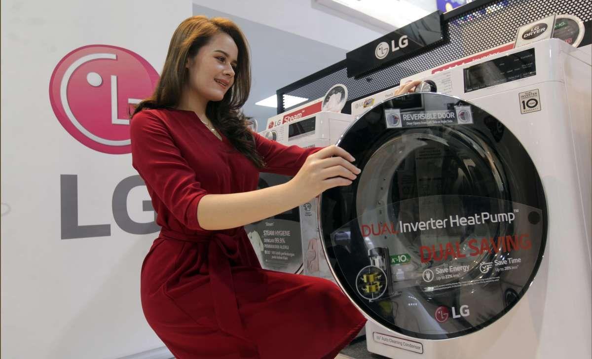 Teknologi terbaru pengering pakaian LG