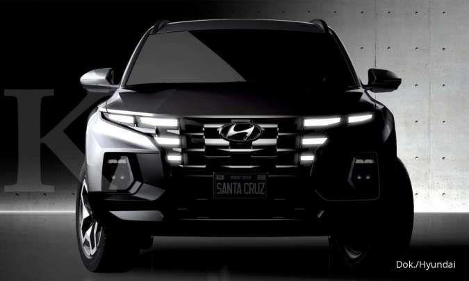 Hyundai Santa Cruz muncul dalam teaser, siap dobrak pasar pick up double cabin