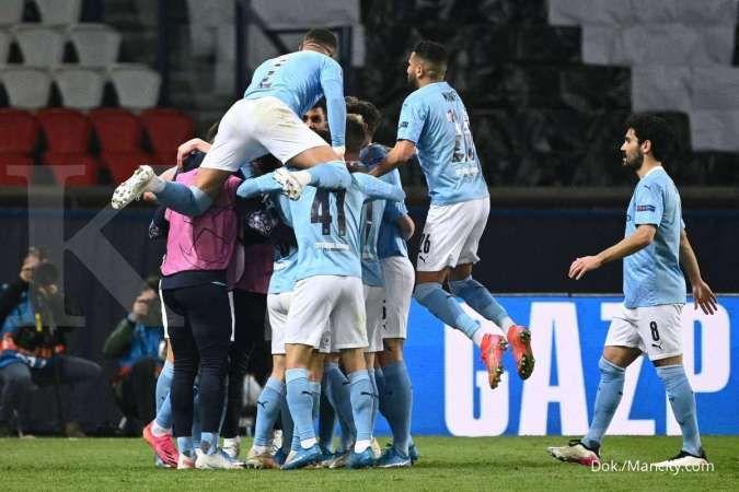 PSG vs Man City di Liga Champions: Comeback The Citizens bungkam Les Parisiens 1-2