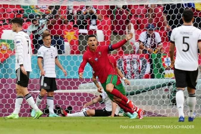 Jadwal Euro 2020 antara Portugal vs Prancis di Grup F