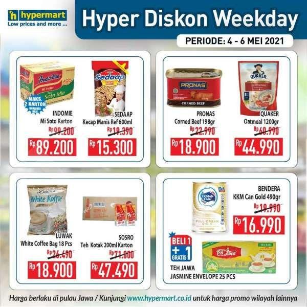 Paling baru! Promo Hypermart weekday 4-6 Mei 2021, Hyper Diskon