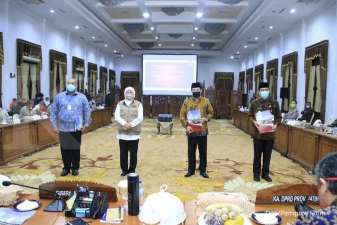 Pemprov Jatim berlakukan PSBB Surabaya , Gresik & Sidoarjo mulai 28 April
