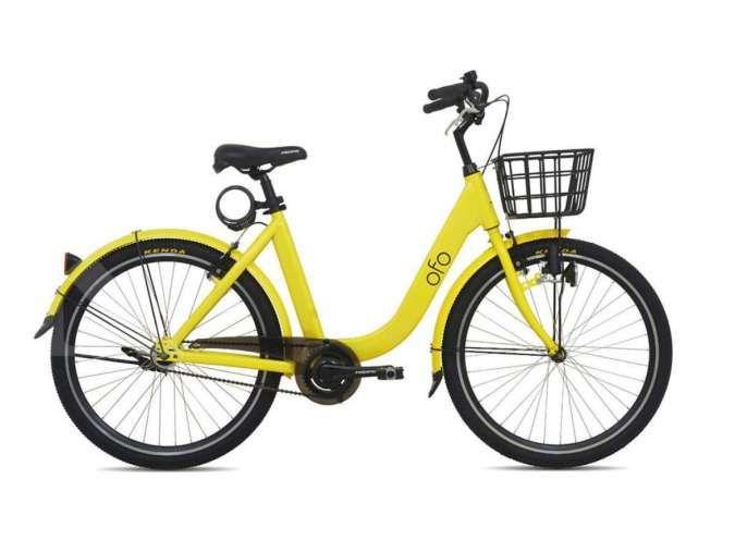 Desain unik warna colorful, harga sepeda Pacific Ofo dipatok cuma Rp 2 jutaan