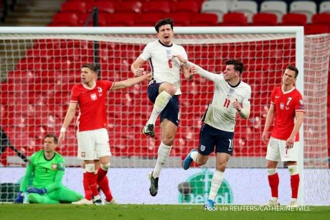 Inggris vs Austria di laga uji coba jelang Euro 2021: Meramu taktik Gareth Southgate