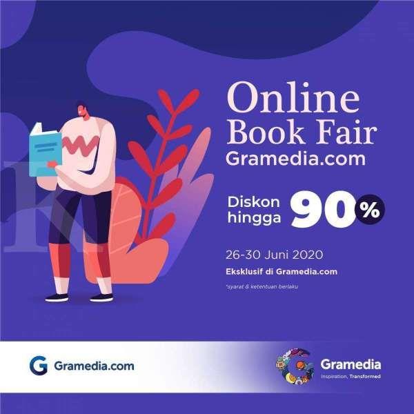 Online Book Fair Gramedia.com diperpanjang 2 Juli 2020, masih ada waktu!