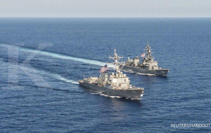 Menegangkan, China usir kapal perang AS bersenjata rudal dari Laut China Selatan