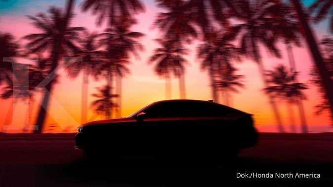 Teaser Honda Civic hatchback terbaru muncul, bakal meluncur bulan ini